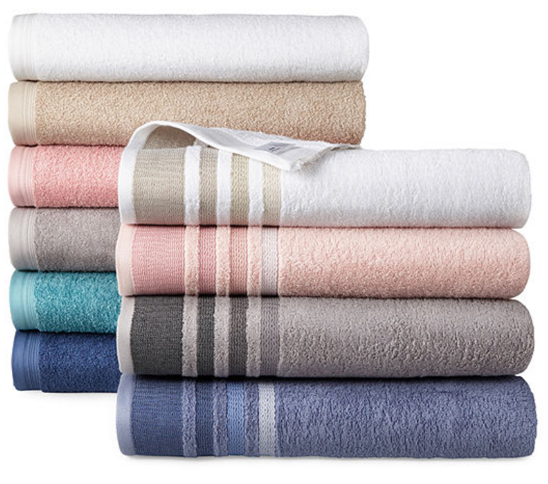 JCPenney.com – Home Expressions Bath Towels Just $1.87 Each + Free Store Pickup!