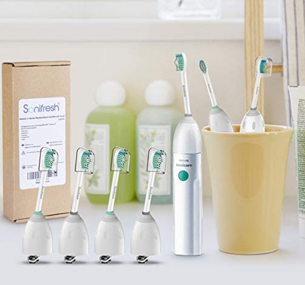 Amazon – 4 Pack Sonifresh Replacement Toothbrush Heads For Philips Sonicare E-Series HX7002 Only $8.83, Reg $16.99!