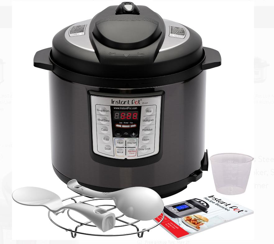 Walmart.com – Instant Pot 6-Quart Pressure Cooker Only $55, Reg $99 + Free Shipping!