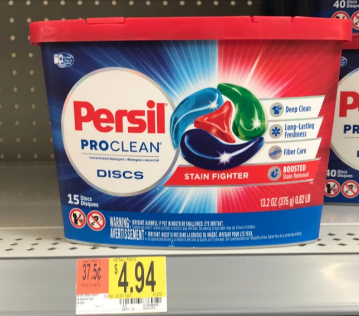 Walmart –  FREE Persil Laundry Detergent!