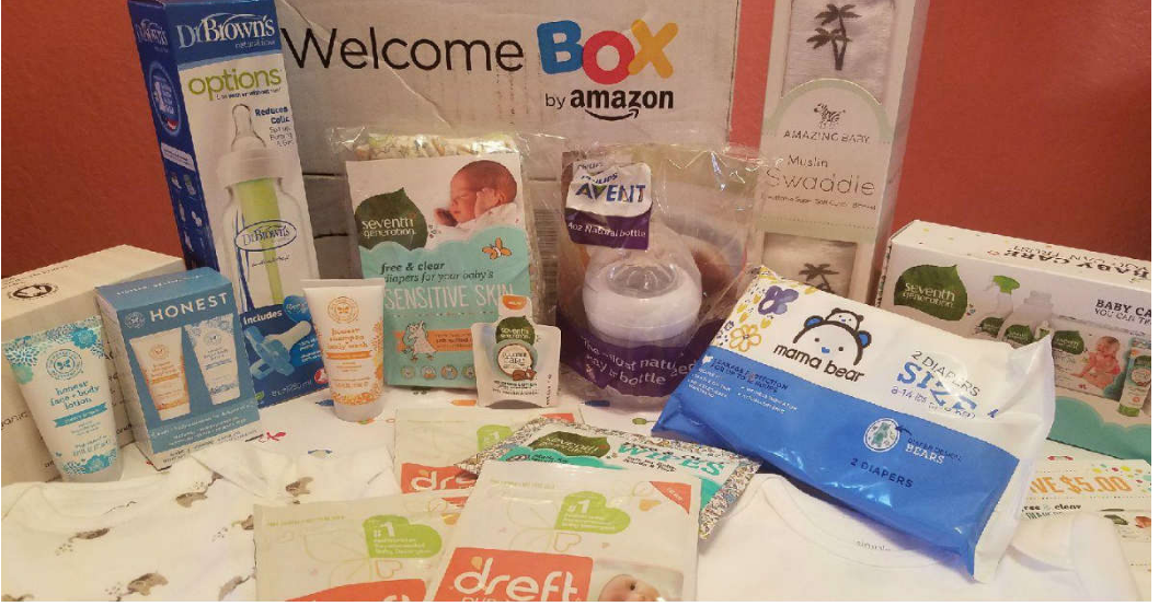 Amazon – FREE Baby Welcome Box (With Registry Sign Up) Valued at $35!