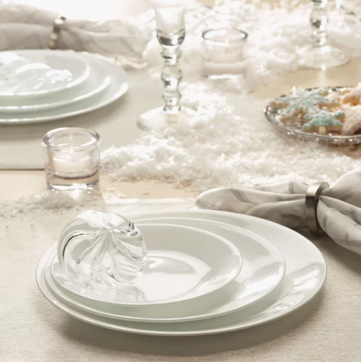 Amazon – Corelle Winter Frost White Dinnerware Set (38-Piece, Service for 12) Only $86.99 Shipped, Reg $164.99