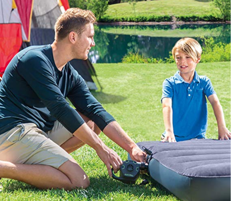 Amazon OR Walmart – Intex Quick-Fill Ac Electric Air Pump only $10.89, Reg $46.99 + Free Shipping!