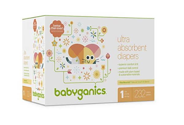 Amazon - 40% Off Babyganics Products With Coupon + Free