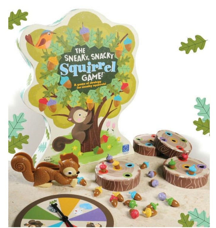 Barnes and Noble – The Sneaky, Snacky Squirrel Board Game Only $9.99, Reg $19.99!