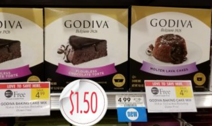 Publix – Godiva Baking Mix Only $1.50, Reg $4.99 – Print Your Coupons Now!
