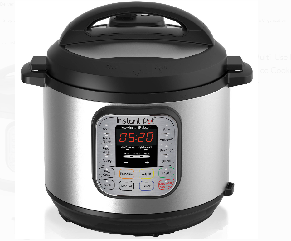 Instant Pot Duo 6-Qt 7-In-1 Programmable Pressure Cooker Only $49.99, Reg $99.95 + Free Shipping!