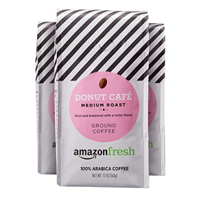Amazon – 3 Pack Of AmazonFresh Donut Café Coffee Bags Only $9.73 Shipped ( Only $3.24 Each)