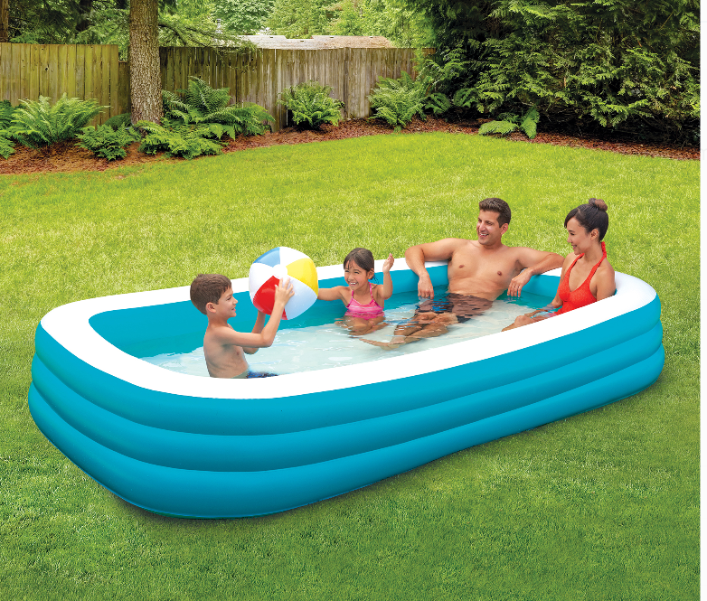 Walmart.com – Play Day 10′ Deluxe Inflatable Family Pool Only $19.88, Reg $24.97 + Free Store Pickup!