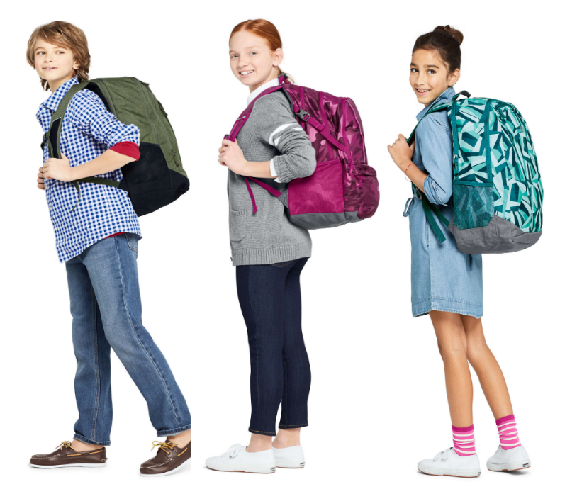 Lands' End – 50% Off ALL Backpacks and Lunchboxes + Free Shipping! ClassMate Soft Sided Lunch Box Only $4.88, Reg $19.95!