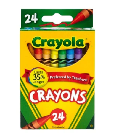 Office Depot – 24-Pack Crayola Crayon Only 3 for $0.99 (Limit 6) + Free Store Pickup!