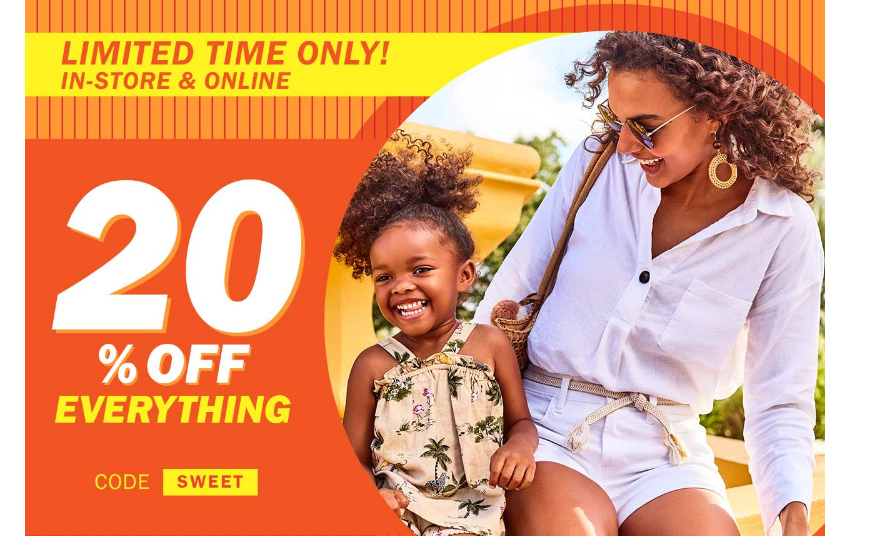 Old Navy – Take An Additional 20% Off With Code = Kids Jeans Only $8.00, Reg $19.99 + Free Store Pickup!