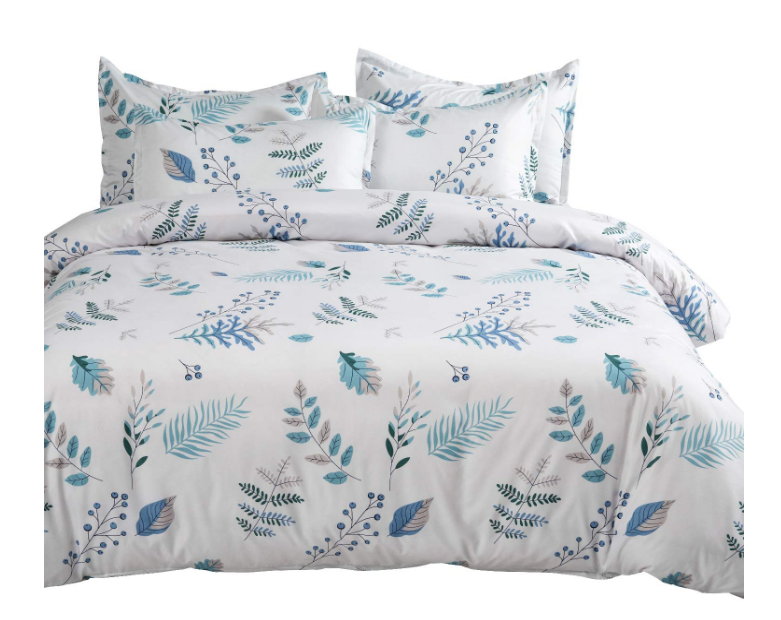 Amazon – King Size Duvet Cover Set with Zipper Closure Only $22.89 (Reg $69.99) Queen Only $19.99!