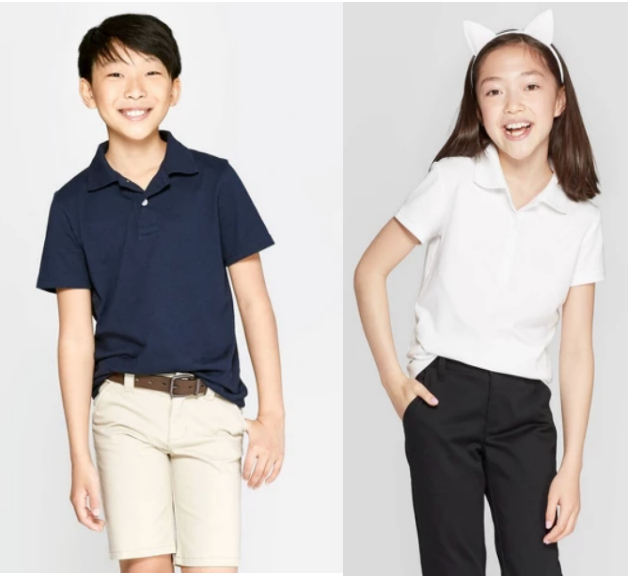 Target.com – Cat & Jack Kids Uniform Polos Only $2.80