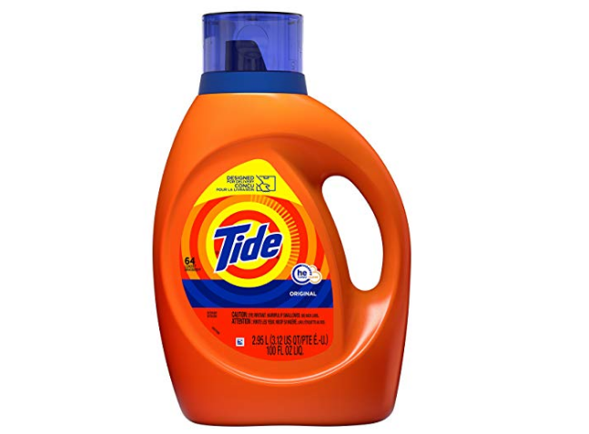Amazon – Tide Laundry Detergent Liquid 100 oz, 64 Loads Only $9.97, Reg $16!