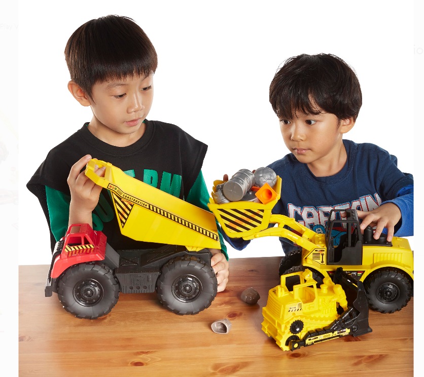 Walmart.com – Kid Connection Jumbo Construction Play Set Only $9.99, Reg $39.97 + Free Store Pickup!
