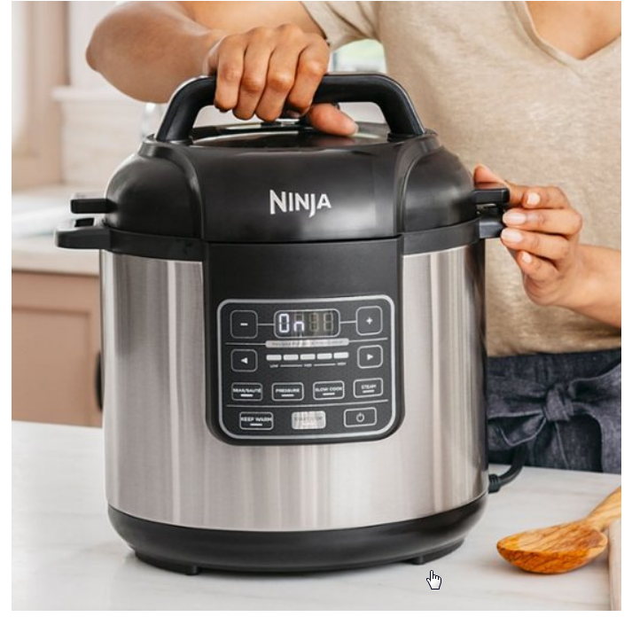 Best Buy – Ninja 6-Qt Instant Cooker Only $39.99, Reg $99.99 + Free Shipping!