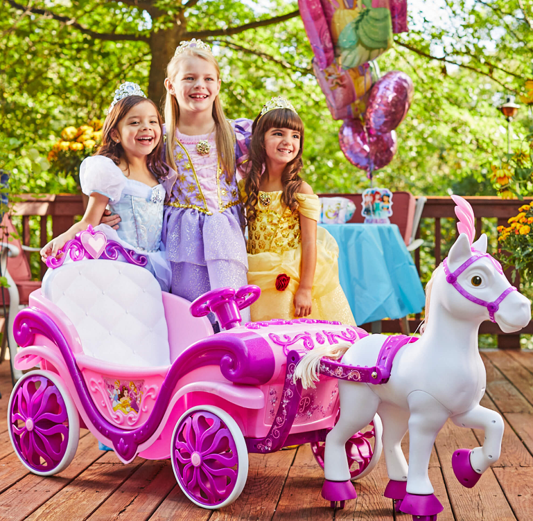 Walmart – Disney Princess Horse & Carriage Ride-On Toy Only $99, Reg $200 + Free Shipping!