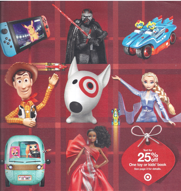 Target – New Toy Catalog & FREE Shipping!