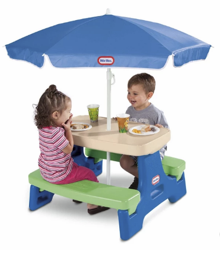 Target – Little Tikes Easy Store Jr. Play Table with Umbrella Only $35.99, Reg $69.99