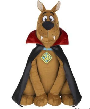 Walmart – Plush Scooby Doo Vampire Halloween Decoration Only $10.70, Reg $36.88 + Free Store Pickup!