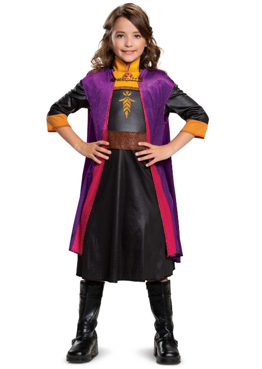 Walmart.com – Frozen 2 Anna Classic Girls Costume Only 4.99, Reg $15.00 + Free Store Pickup!