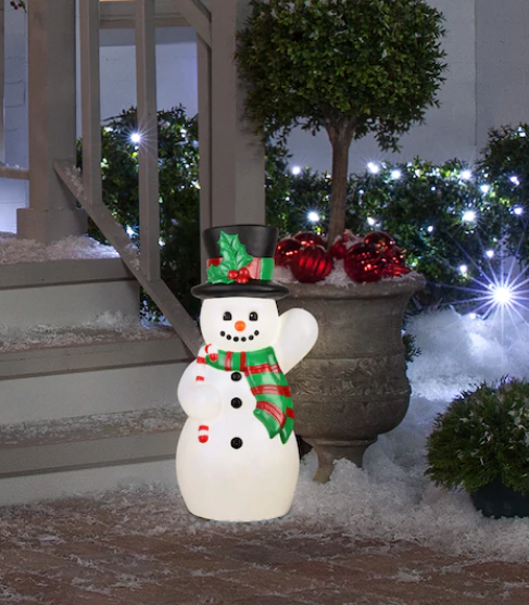 Michael's – Ashland 24″ Lighted Vintage Snowman Only $20.99, Reg $39.99 + Free Store Pickup!