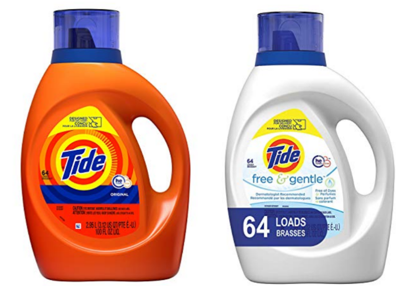 Amazon – 100oz Tide HE Liquid Laundry Detergent On Sale at 3 For $25.91 (Reg $16 Each) + Free Shipping!