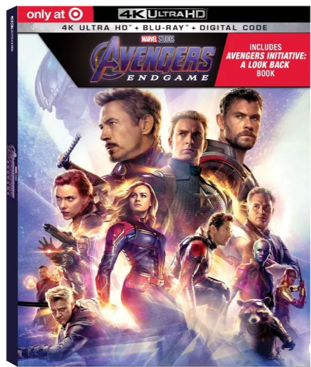 Target Exclusive 4K UHD Blu-rays – Choose From Avengers: Endgame, Toy Story 4, Dumbo (2019), The Loin King Only $17.50 (Reg $34.99) + Free Shipping!!