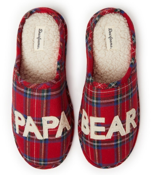 Kohl's – Dearfoams Matching Family Slippers Only $8.49, Reg $34 Or More + Free Store Pickup!