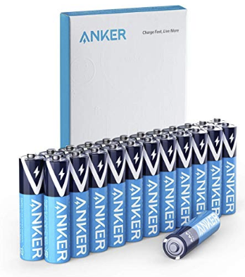 Amazon – Anker 24-Count AAA Alkaline Batteries Only $6.64, Reg $10.99 + Free Shipping!