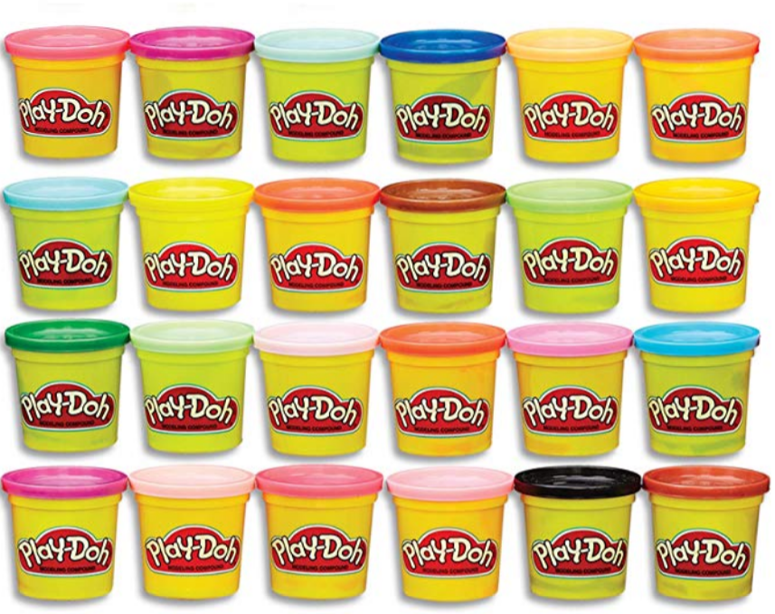 Amazon – Play-Doh Modeling Compound 24-Pack Non-Toxic, Multi-Color Only $10.99, Reg $20.99!