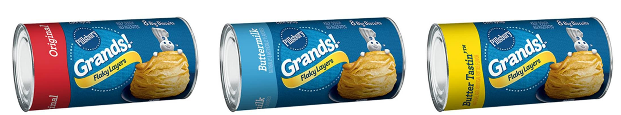 Publix – Pillsbury Grands Only 76¢, Reg $2.19 – PRINT YOUR COUPON NOW!