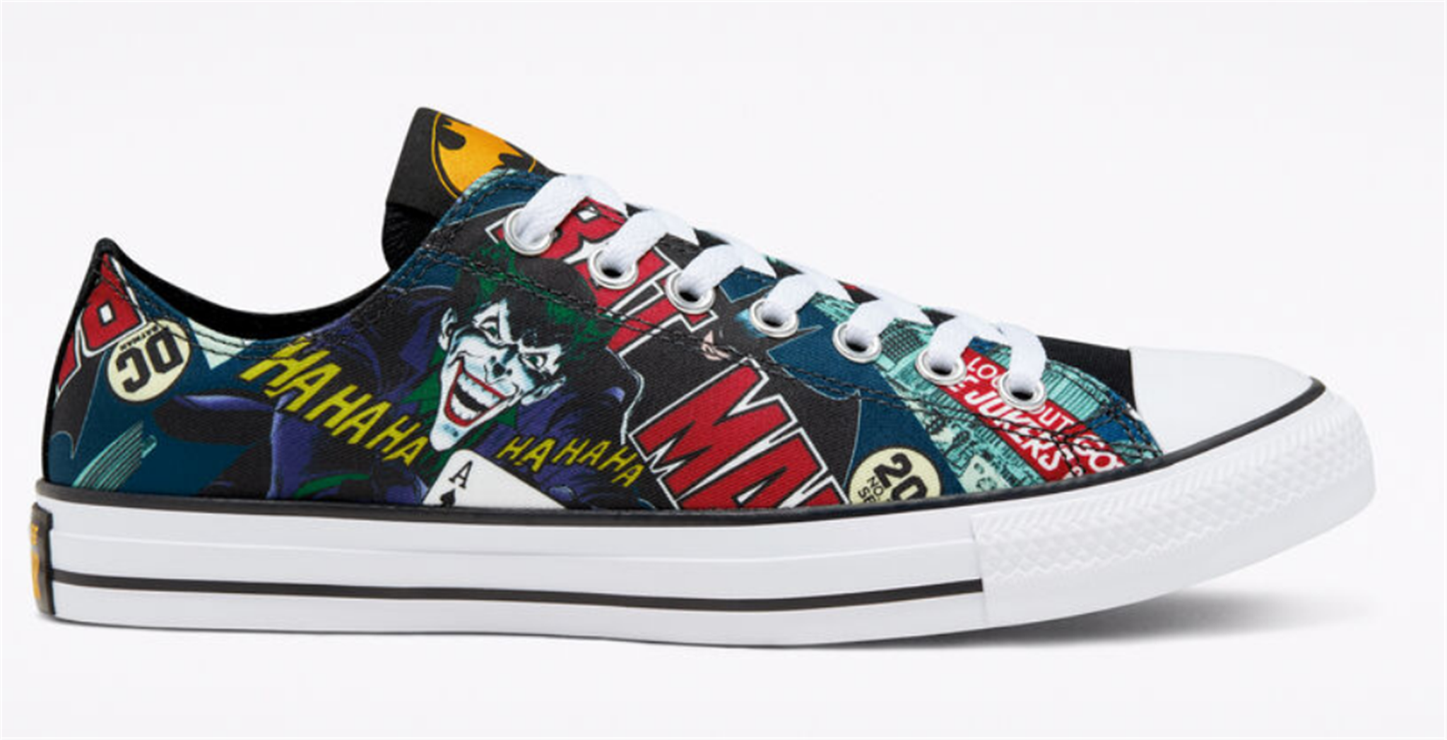 Batman Chuck Taylor Converse Shoes For The Family 50% Off + Free Shipping!