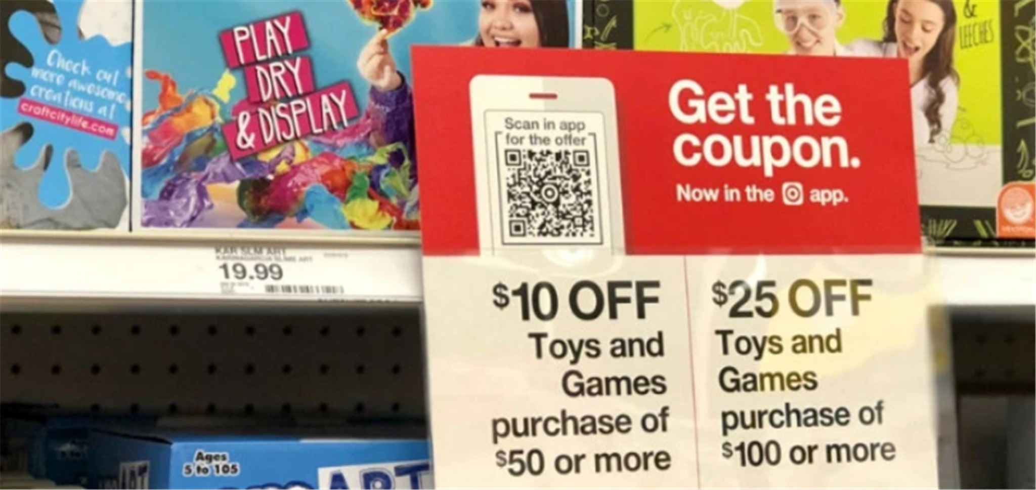 Target – Up to $25 Off Toys & Games With Coupon