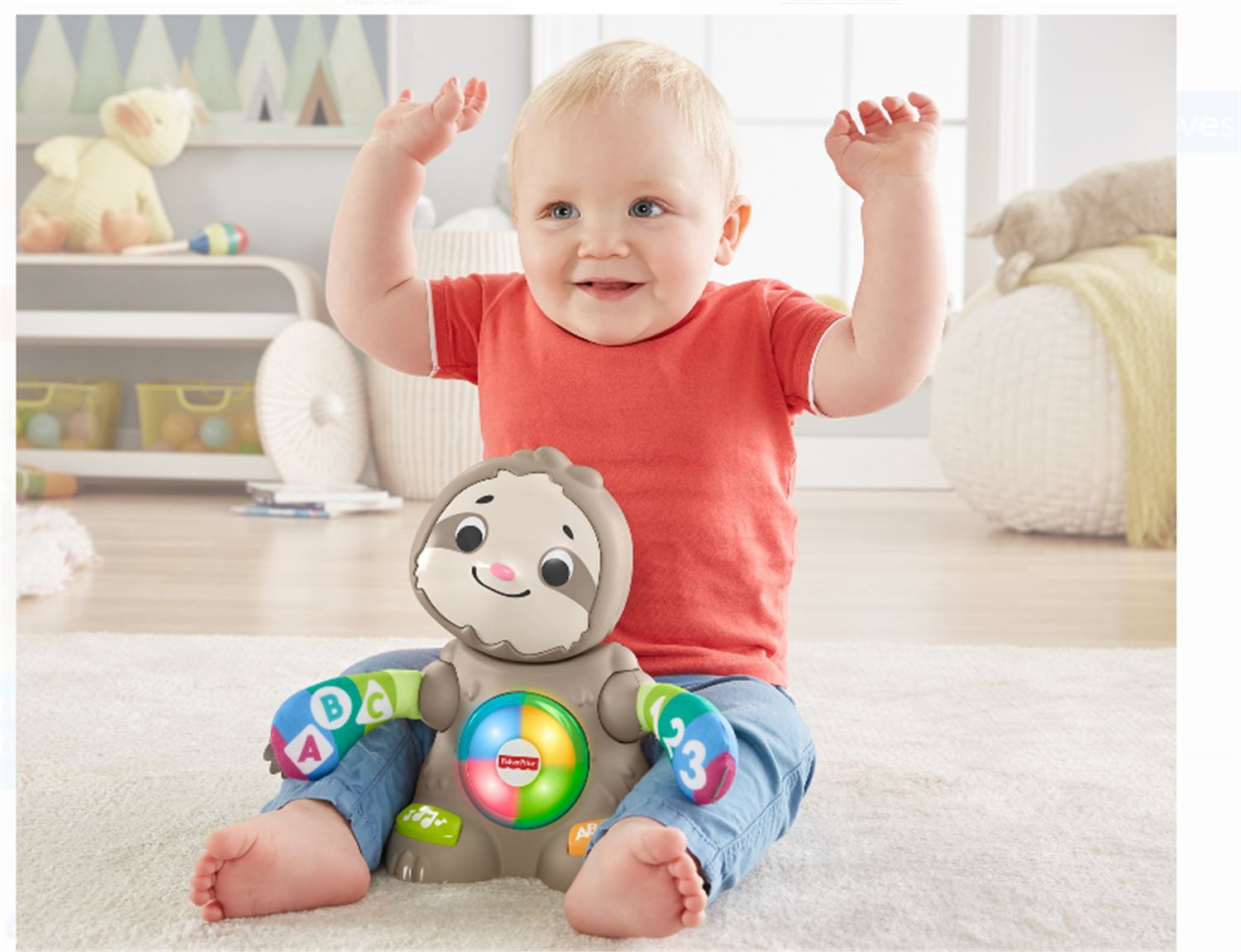 Walmart – Fisher-Price Linkimals Smooth Moves Sloth, with Music & Lights Only $22.49, Reg $29.82 + Free Store Pickup!