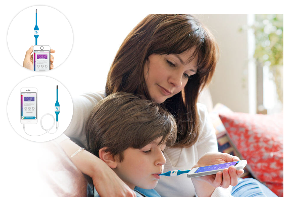 Kinsa Highly Rated, Award-Winning Smart Thermometer Only $14.99 (Regularly $24.99) + Free Shipping!