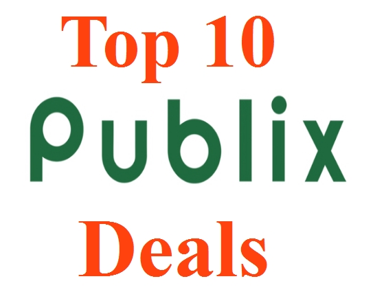 Top 10 Publix Deals For 2/27-3/04