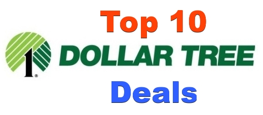 Top 10 Dollar Tree Deals For 7/15-7/21