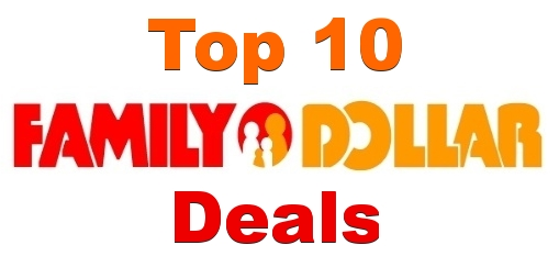 Top 10 Family Dollar Deals For 1/26-2/01