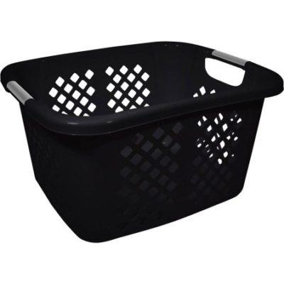 Walmart – Home Logic 1.5-Bu Laundry Basket, Black Only $6.99 (Reg $9.47) + Free Store Pickup
