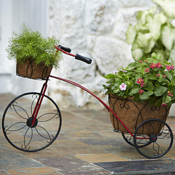 Kmart – Essential Garden Tricycle Plant Holder Only $25.00 (Reg $49.99) + Free Store Pickup