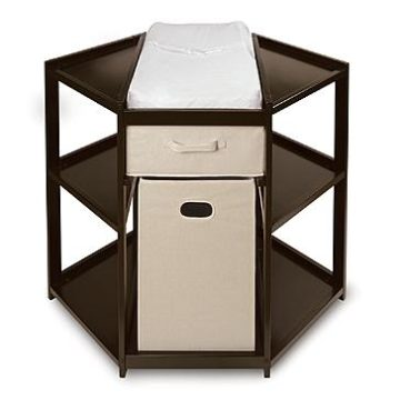 Sears – Badger Basket Espresso Diaper Corner Baby Changing Table with Hamper and Basket Only $153.89 (Reg $179.99) + Free Shipping