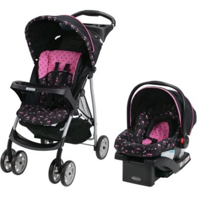 Walmart – Graco LiteRider Click Connect Travel System, with SnugRide Click Connect 22 Infant Car Seat, Priscilla Only $129.97 (Reg $169.99) + Free Shipping