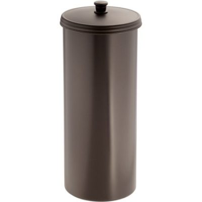 walmart interdesign kent toilet paper holder canister only reg free store. Black Bedroom Furniture Sets. Home Design Ideas