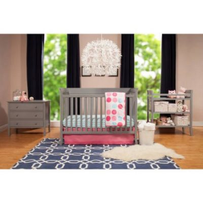 Walmart – Baby Mod Ava Crib and 3 Drawer Dresser Set With BONUS Changing Table, Gray Only $259.98 (Reg $350.98) + Free Shipping