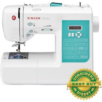 Walmart – SINGER 7258 Stylist Award-Winning 100-Stitch Computerized Sewing Machine With DVD, 10 Presser Feet, Metal Frame, and More Only $163.27 (Reg $299.99) + Free Shipping