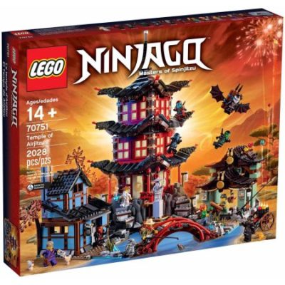 Walmart – LEGO NINJAGO Temple of Airjitzu Only $174.98 (Reg $199.95) + Free Shipping
