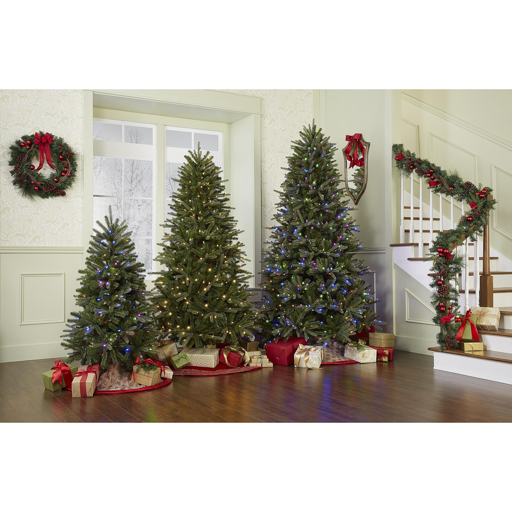 Skinny Christmas Trees Prelit