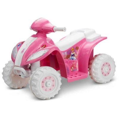 Walmart – KidTrax Disney Princess Toddler Quad 6-Volt Battery-Powered Ride-On Only $39.00 (Reg $79.00) + Free Store Pickup